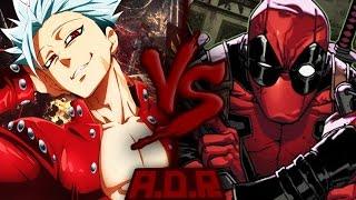 Ban VS. Deadpool | ARENA DO RAP