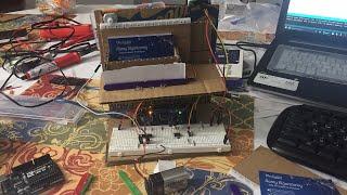 مشروع بالأوردوينو تشغيل الماتور من خلال لاقط الحركه