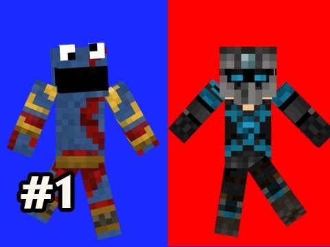 Minecraft Red And Blue w Nova & SSoH Ep.1 Half Parkour Half Puzzle