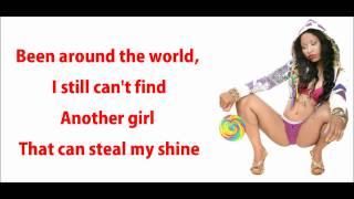 Nicki Minaj - Baddest Bitch Lyrics Video