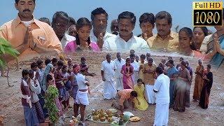 bhoomi pooja scene | Pandavar Bhoomi Tamil Movie Songs | Arun Vijay | Rajkiran | Shamitha