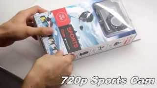 Waterproof Camera Review Under $50- HD 720P Waterproof 30M SJ4000 Sports Camera