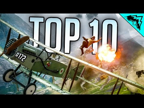 PILOT HUNTING Battlefield 1 Top 10 Plays of the Week Amazing Headshot Snipes & Traps WBCW 172