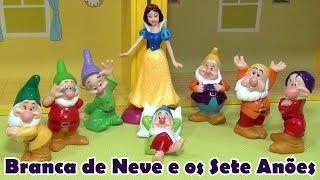 Branca de Neve e os Sete Anões - NOVO !! Brincando com a tia Cris