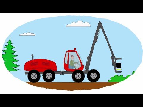 Мультики про машинки и трактора раскраски