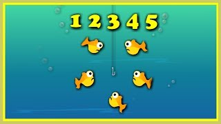 1, 2, 3, 4,5 once I Caught A Fish-- Nursery Rhymes--Kindergarten Songs--Bed Time Songs