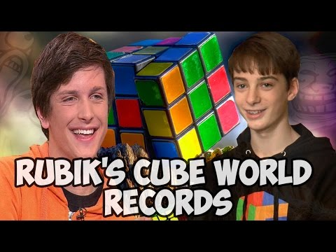 watch Rubik's cube world records 2016 New Edit