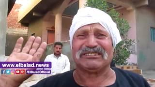 صدى البلد |  والد شهيد الفيوم :والدته شعرت باستشهاده قبل ذهابه للكمين