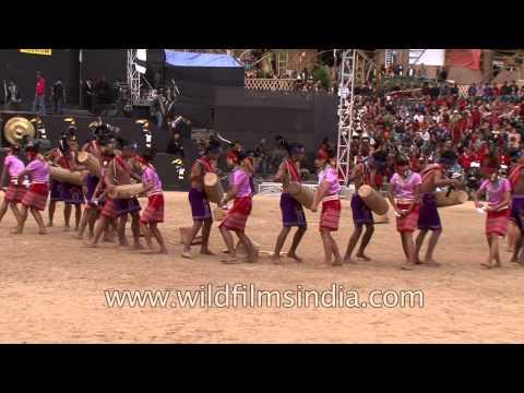 North East India's Garo tribal drumbeats and dance steps!
