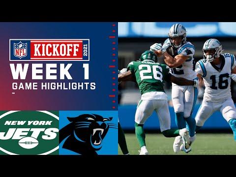 Jets vs. Panthers Week 1 Highlights NFL 2021