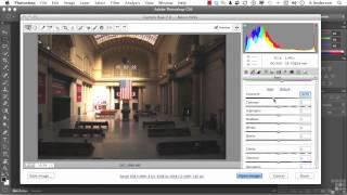 Adobe Photoshop CS6 Tutorial | Image Correction via Camera RAW | InfiniteSkills