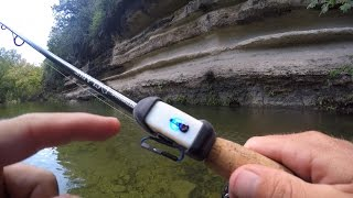 Creek Fishing with New Technology