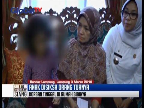 Kondisi anak yang dianiaya oleh ibu kandung dan ayah tiri di Lampung - BIS 03/03