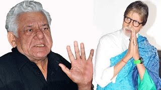 Om Puri Passed Away: His Final Statement On Amitabh Bachchan