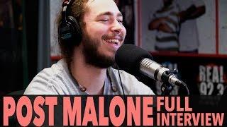 "Post Malone on ""Stoney"", Justin Bieber, Kanye West, And More! | BigBoyTV"
