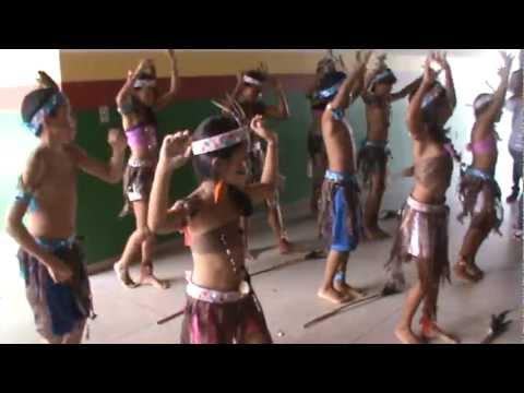 Coreografia do Dia do Índio
