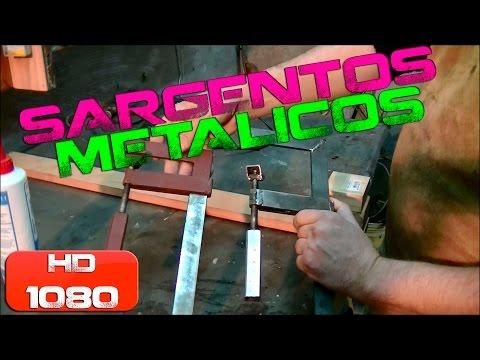 Tutorial Sargentos metálicos caseros How to make a Clamp