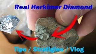 Herkimer Diamond Mining Tips/ Strategies/ Review Vlog #4