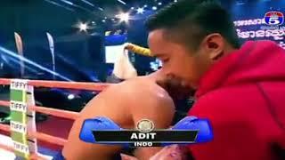 Seng Sroeun vs Ardiansyah (Indonesia) kun Khmer boxing 29/12/2018
