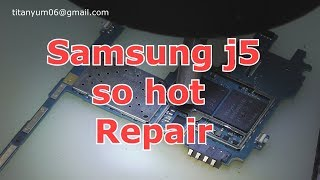 Samsung J5 Overheating Problem Fixed Repair (High Temperature)