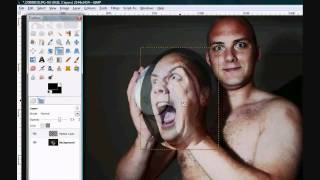 Photoshopping, holding your own head (gimp) tutorial