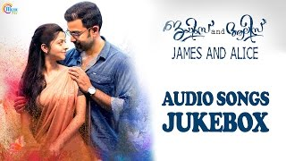 James and Alice || Audio Songs Jukebox | Prithviraj Sukumaran, Vedhika, Gopi Sundar | Official