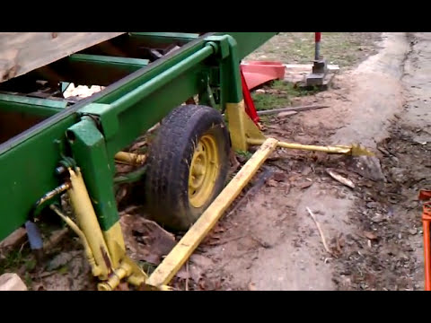 SAWMILL homemade 13HP engine log lift