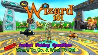 Wizard101 The Fish Of Avalon - Where They Are & How to Get Them