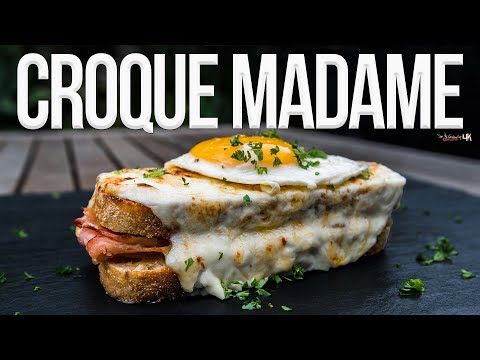 Croque Madame Sandwich SAM THE COOKING GUY 4K