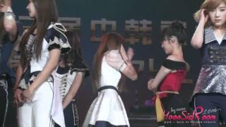 [Fancam] SNSD YOONA JESSICA - TALK @111108 KBS Korea China Music Fest