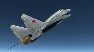 DCS: MiG 29 bay ra rìa vũ trụ - High Altitude Stratosphere Flight.