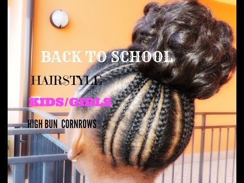 BACK TO SCHOOL HAIRSTYLE FOR KIDS/GIRLS ( SIMPLE AND CUTE) #1