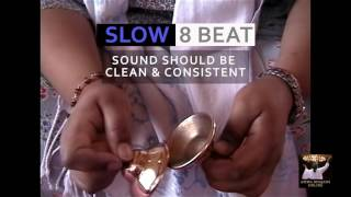 Basic Bhajan Bell Beats - Slow 8 Beat