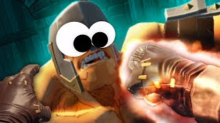GORN - FIERY FISTS OF FURY IN VR!! - New Update GORN VR (VR HTC VIVE Gameplay)