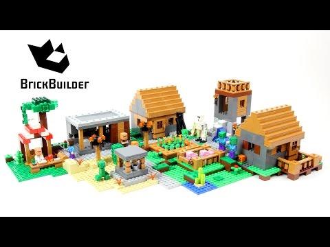 Xxx Mp4 Lego Minecraft 21128 The Village Lego Speed Build 3gp Sex