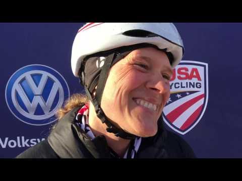 Katie Compton - 2017 Elite Women Cyclocross Nationals Champion - Hartford