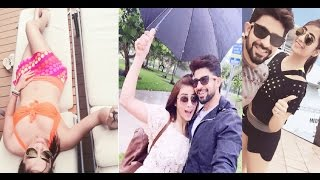Hot Vacation Pictures Of TV Couple Hussain and Tina Kuwajerwala!