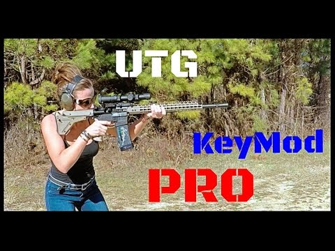 UTG PRO KeyMod Free Float AR-15 Handguard Review (HD)