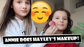 Annie Does Hayley's Makeup 😊 (WK 380) | Bratayley