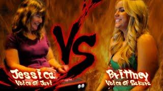 Voices of Gaming: Super Street Fighter IV -- Episode 22 -- Jessica (Juri) vs. Brittney (Sakura)