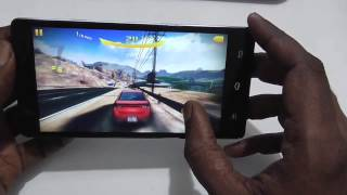 Infocus M330 Gaming Performance with Asphalt 8