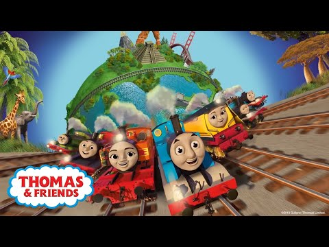 Big World! Big Adventures! Theme Song   Official Lyrics Video   Thomas & Friends