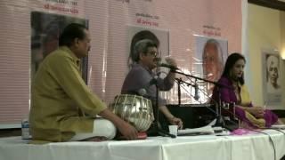 Shree Amar Bhatt and Himali Vyas Naik at દસમું દ્વિવાર્ષિક સાહિત્ય સંમેલન [GLAofNA] HD Quality
