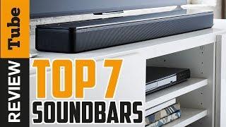 ✅SoundBar:The TOP 7 best soundbar 2018 (Buying Guide)