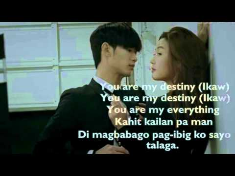 You Who Came From The Stars OST (My Destiny - Tagalog Version)