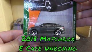 2018 Matchbox E Case Unboxing