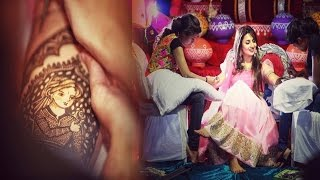 दिव्यांका की मेहंदी सेरेमनी, फोटोज़ वायरल…! | EXCLUSIVE!!! Divyanka Tripathi Mehandi Special