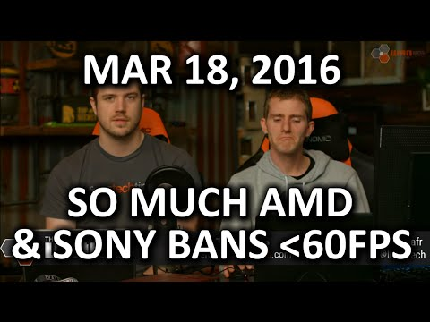 The WAN Show - Sony Bans Games Under 60FPS.. at Least VR Ones.. - Mar 18, 2016