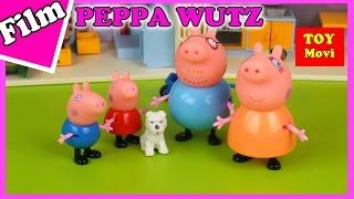PEPPA WUTZ - DEUTSCH Spielzeug Film Neue folgen - PEPPA Pig Stop motion Tierheim