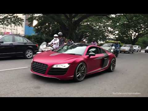 Xxx Mp4 SUPERCARS IN INDIA 2018 JULY Bangalore Aventador RS6 Avant More 3gp Sex
